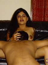 Neha pics 04. Neha giving her hubby a blow and gets licked